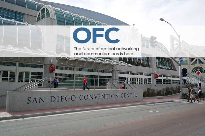 OFC at San Diego Convention Center building
