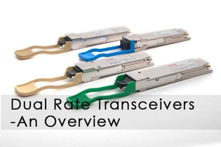 Dual rate transceivers